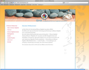 Website International Shinson Hapkido Association