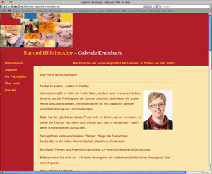 Website Gabriele Krumbach